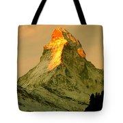 Matterhorn In Switzerland Tote Bag