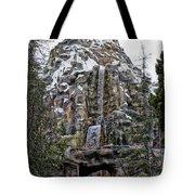 Matterhorn Mountain With Bobsleds At Disneyland Tote Bag