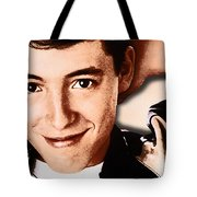 Matthew Broderick In Ferris Bueller's Day Off  Tote Bag