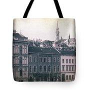 Matthias Church And Vizivaros Tote Bag