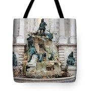 Matthias Fountain In Budapest Tote Bag