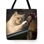 Matty And Rooster #1 Tote Bag