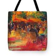 Maturing Sun, Paris Oil On Canvas Tote Bag
