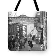 Maude Bridge In Baghdad Tote Bag