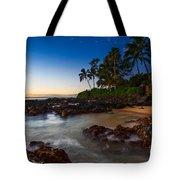 Maui Cove - Beautiful And Secluded Secret Beach. Tote Bag