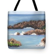 Maui Rock Bridge Tote Bag