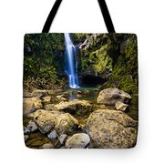 Maui Waterfall Tote Bag by Adam Romanowicz