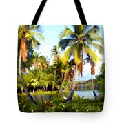 Mauna Lani Fish Ponds Tote Bag