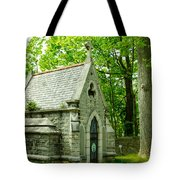 Mausoleum In Cemetery Tote Bag