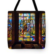 Mausoleum Stained Glass 01 Tote Bag