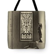 Mausoleum Stained Glass 02 Tote Bag