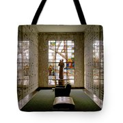 Mausoleum Stained Glass 04 Tote Bag