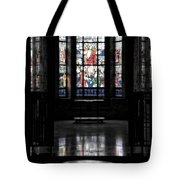 Mausoleum Stained Glass 05 Tote Bag
