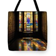Mausoleum Stained Glass 06 Tote Bag