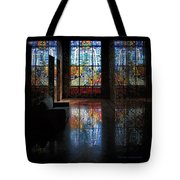Mausoleum Stained Glass 08 Tote Bag