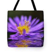 Mauve Softness And Reflections Tote Bag by Kaye Menner