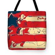 Max Americana In Hope Tote Bag