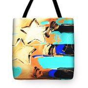 Max Americana In Inverted Colors Tote Bag