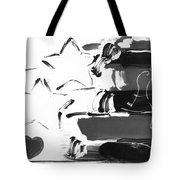Max Americana In Negative Tote Bag