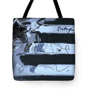 Max Stars And Stripes In Cyan Tote Bag
