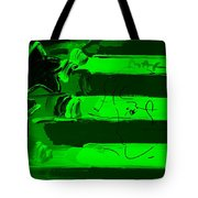 Max Stars And Stripes In Green Tote Bag