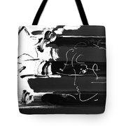 Max Stars And Stripes In Negative Tote Bag