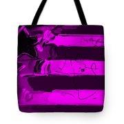 Max Stars And Stripes In Purple Tote Bag