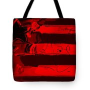 Max Stars And Stripes In Red Tote Bag