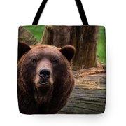 Max The Brown Bear Tote Bag