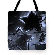 Max Two Stars In Cyan Tote Bag