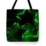 Max Two Stars In Green Tote Bag