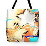 Max Two Stars In Inverted Colors Tote Bag