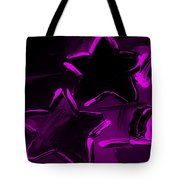 Max Two Stars In Purple Tote Bag