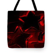 Max Two Stars In Red Tote Bag