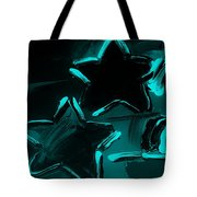 Max Two Stars In Turquois Tote Bag