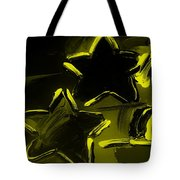 Max Two Stars In Yellow Tote Bag