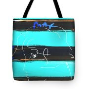 Max Woman In Negative Tote Bag
