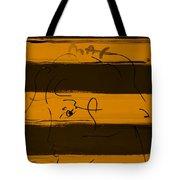 Max Woman In Orange Tote Bag
