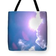 Maxfield Parrish Blue Clouds Over Lagrange Tote Bag