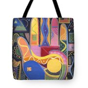May Creativity Be A Blessing Tote Bag