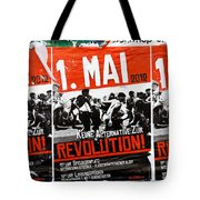 May Day 2012 Poster Calling For Revolution Tote Bag