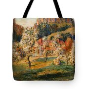 May In The Mountains Tote Bag
