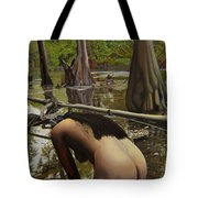 May Morning Arkansas River  2 Tote Bag