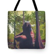 May Morning Arkansas River 5 Tote Bag by Thu Nguyen