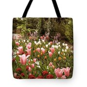 May Tulips Tote Bag
