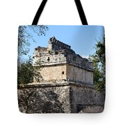 Mayan Ruin At Chichen Itza Tote Bag