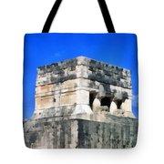 Mayan Ruins Tote Bag
