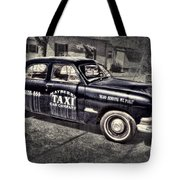 Mayberry Taxi Tote Bag