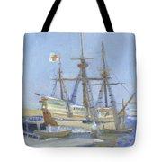 Mayflower At Birth Tote Bag