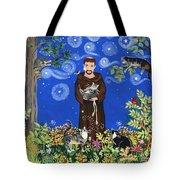 May's St. Francis Tote Bag by Sue Betanzos